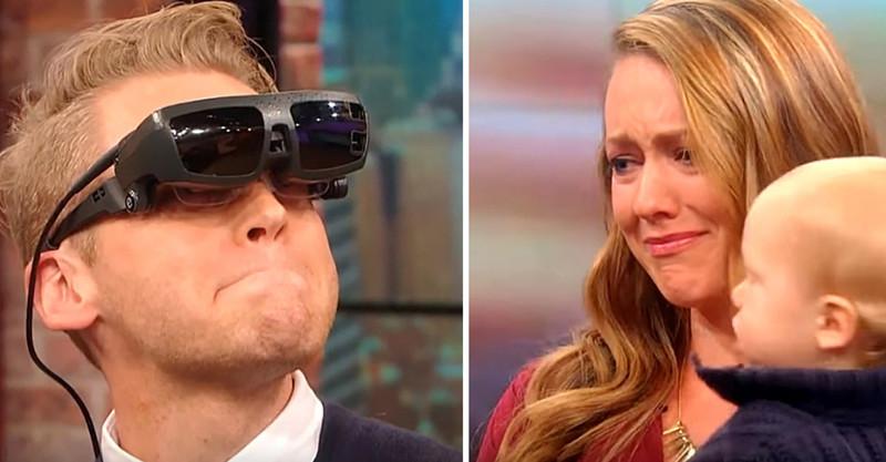 Впервые увидев свою жену исына, этот слепой мужчина сказал дваслова, которые довели всех дослёз