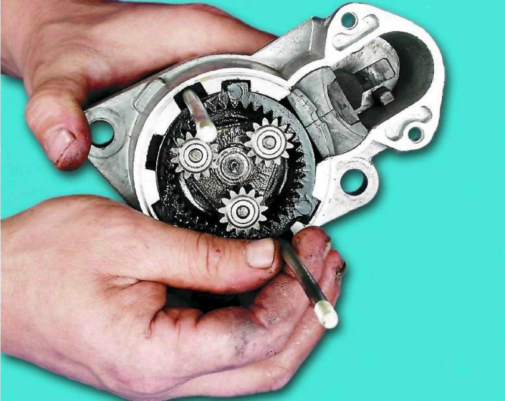 Стартер ВАЗ-2107: устройство, ремонт и замена