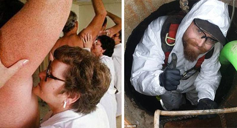Найдены худшие профессии вмире: отчистки канализации дообнюхивания подмышек
