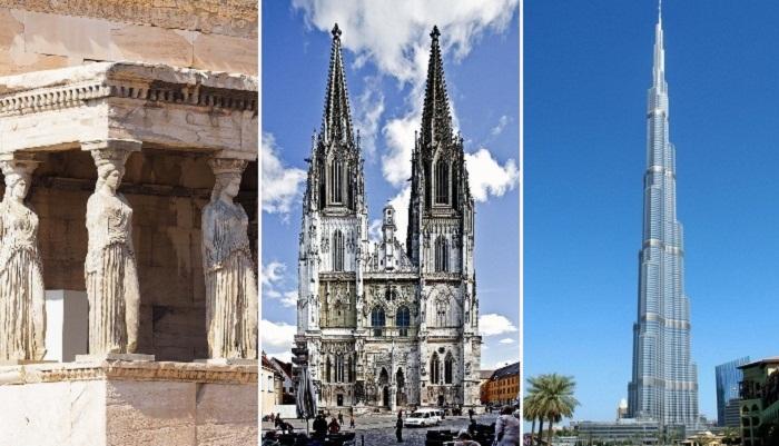 7 архитектурных стилей, которые предопределили развитие западной культуры