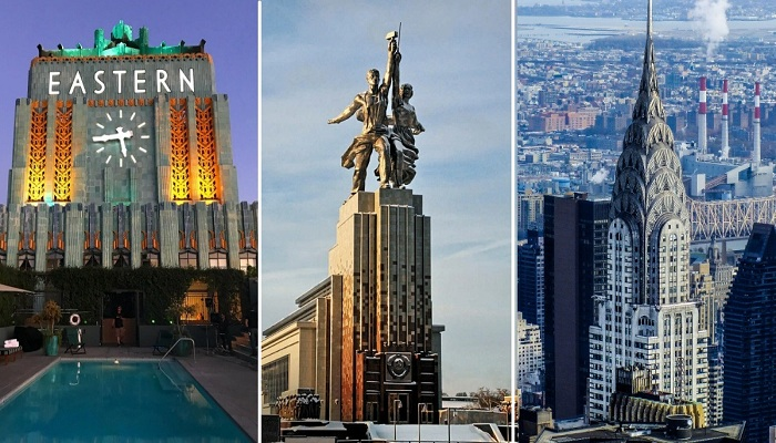 5 впечатляющих сооружений в стиле Art Deco,  выставляющих напоказ свою красоту и монументальность