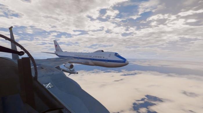 Пегас апокалипсиса: американцы показали, как выглядит изнутри один из «Самолетов Судного дня»