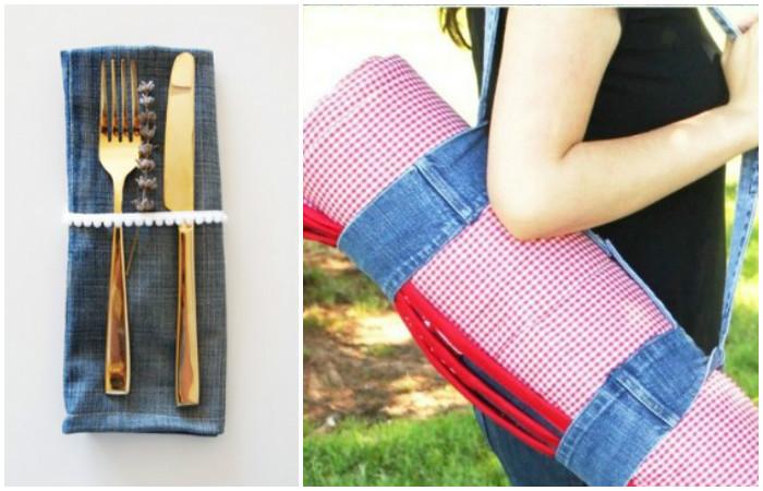 15 крутых и полезных идей, что делать со старыми джинсами и джинсовой одеждой