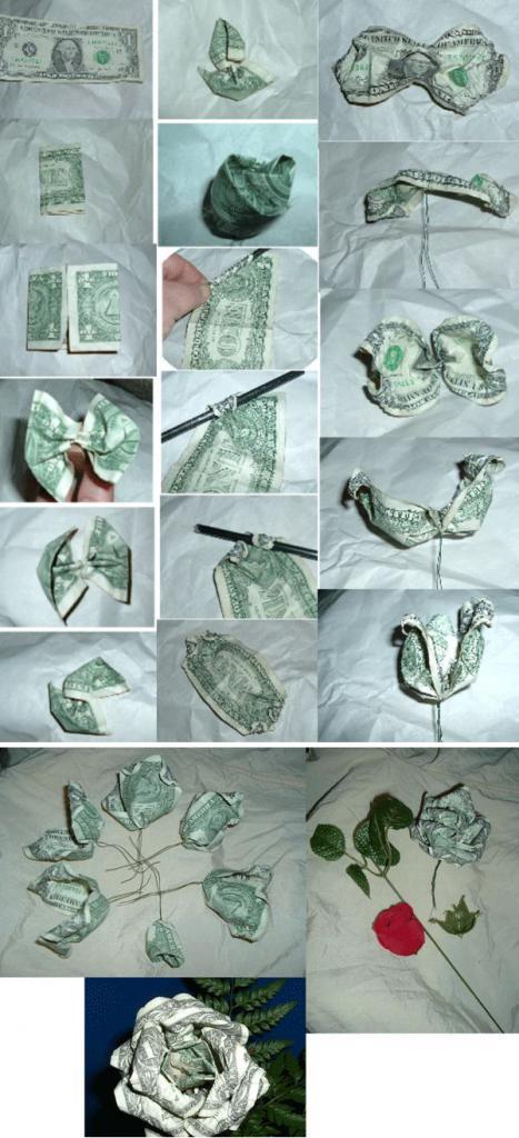 Сделать цветок из денег своими руками пошаговая инструкция фото 767