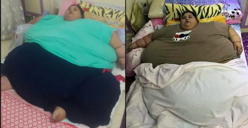 Самая толстая женщина в мире потеряла половину своего веса за 2 месяца