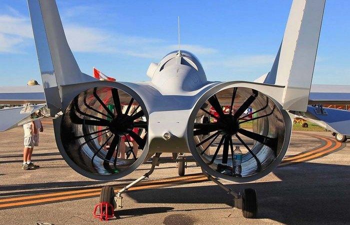 В России представили инновационный самолет PJ–II DREAMER, работающий на вентиляторе