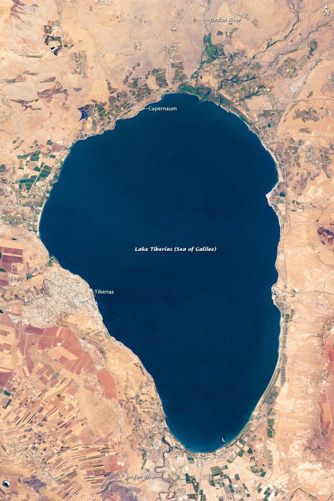 Галилейское море: общие сведения и полезная информация для туристов