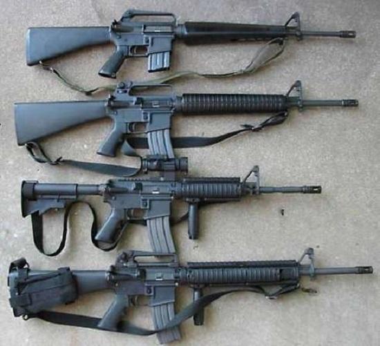 Виды огнестрельного оружия, классификация, характеристики