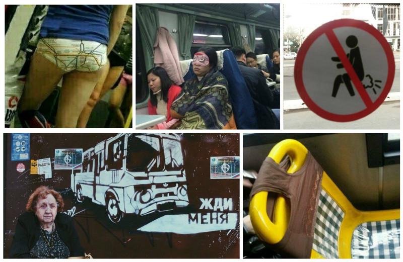 Поездка вобщественном транспорте, которая может привести кповреждениям психики