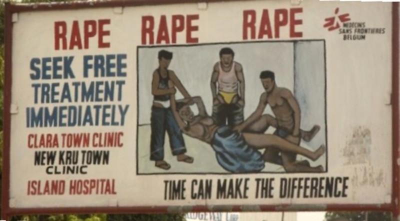 Кампания против сексуальных преступлений. Либерия 2005