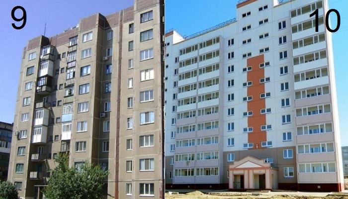 Почему в стандартных отечественных многоэтажках именно 9 этажей