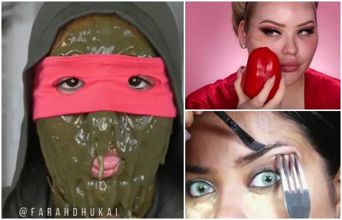 Театр абсурда: 15 видео уроков макияжа, в которых явно что то пошло не так