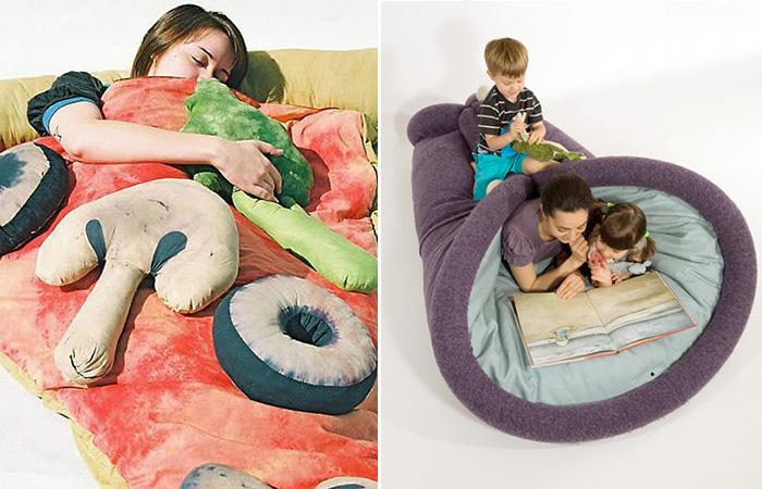 10 спальных мешков странного дизайна, в которых можно комфортно отдохнуть вдали от дома