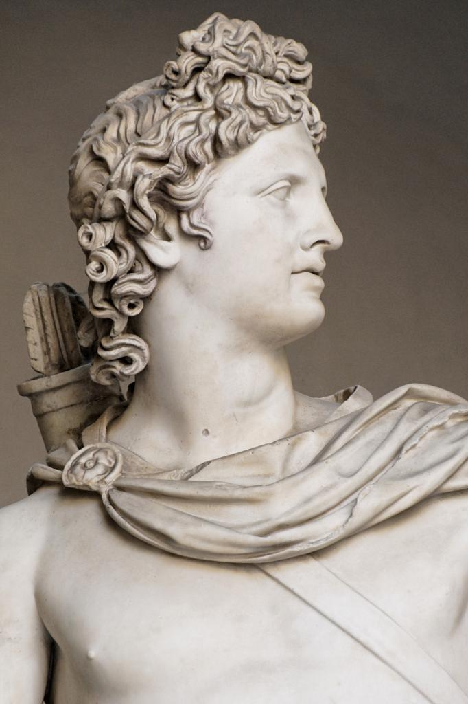 Древнегреческий бог аполлон