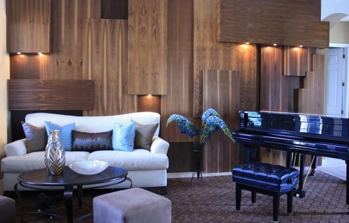 20 вдохновляющих примеров деревянной отделки стен, которая добавит в интерьер стиля, тепла и уюта