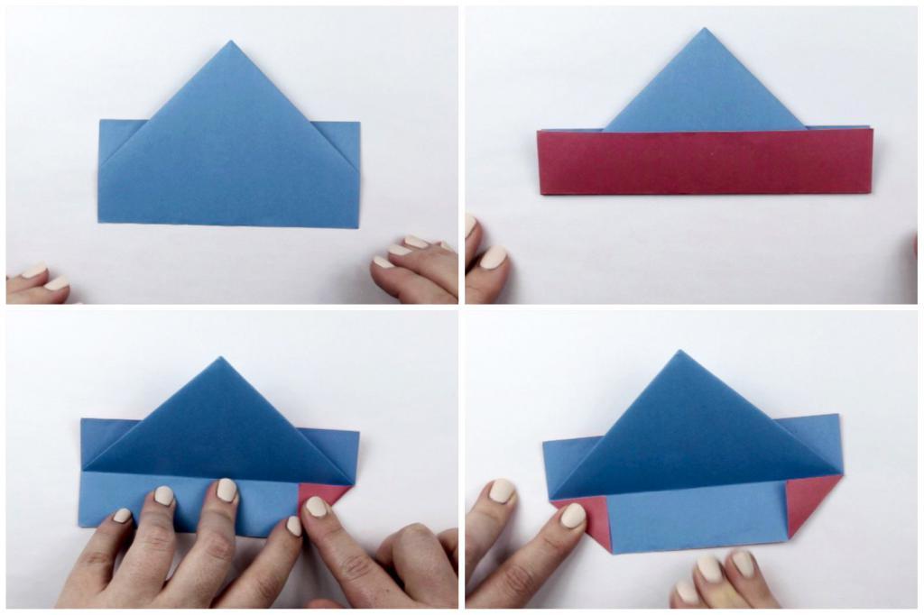 Как сделать бумажные кораблики: несколько способов