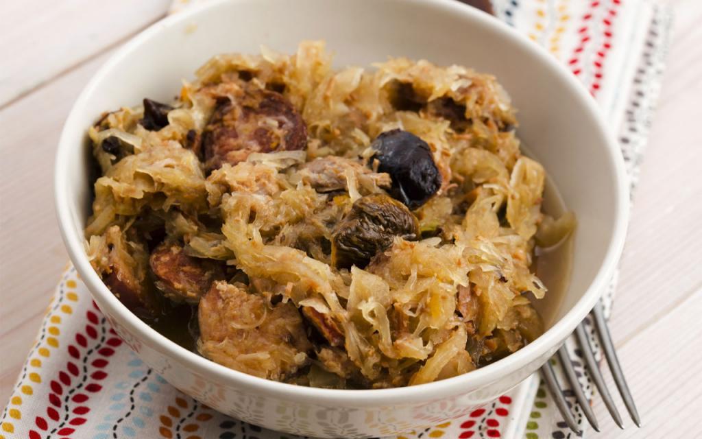 Блюда из капусты: рецепты с фото