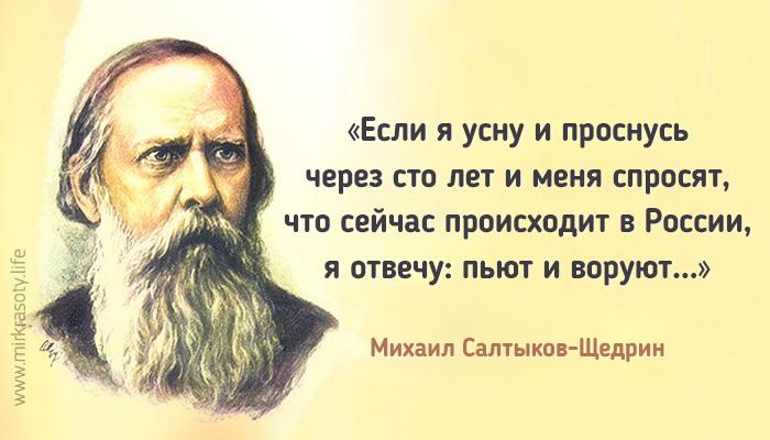 20 метких цитат Салтыкова-Щедрина