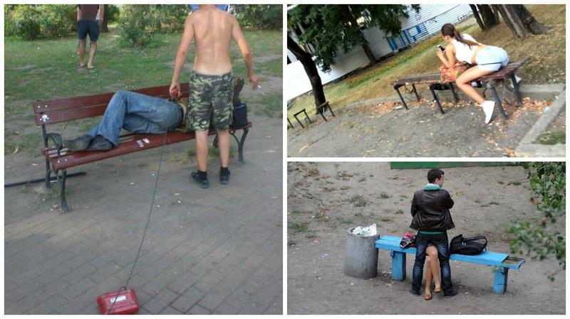 Изжизни лавочек, скамеек, идругих аксессуаров российских дворов