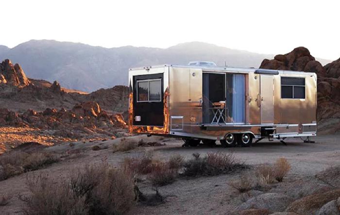 Жилой кемпер – роскошная энергонезависимая квартира в алюминиевом корпусе