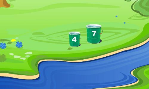 Головоломка: набери 6 литров воды