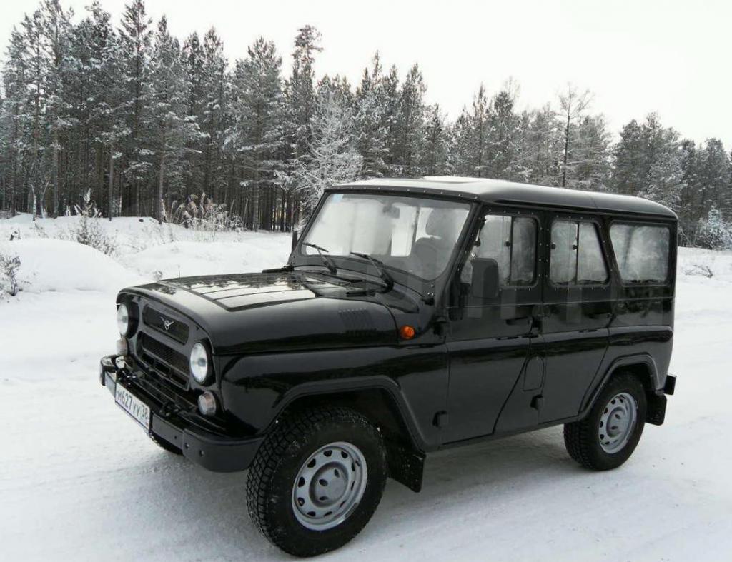 Сложная судьба УАЗ 3160