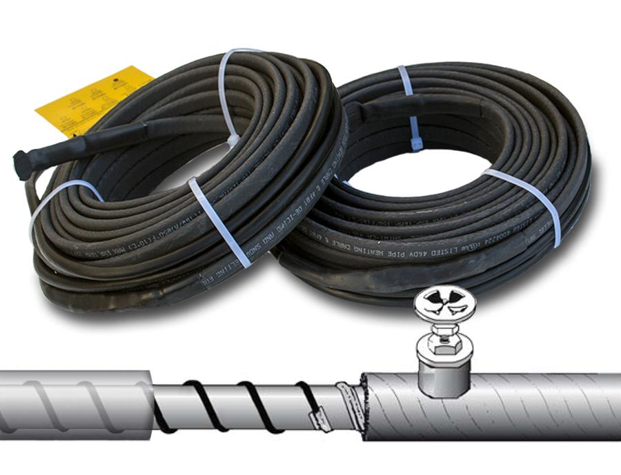 Саморегулирующийся греющий кабель: характеристики, принцип работы, особенности монтажа