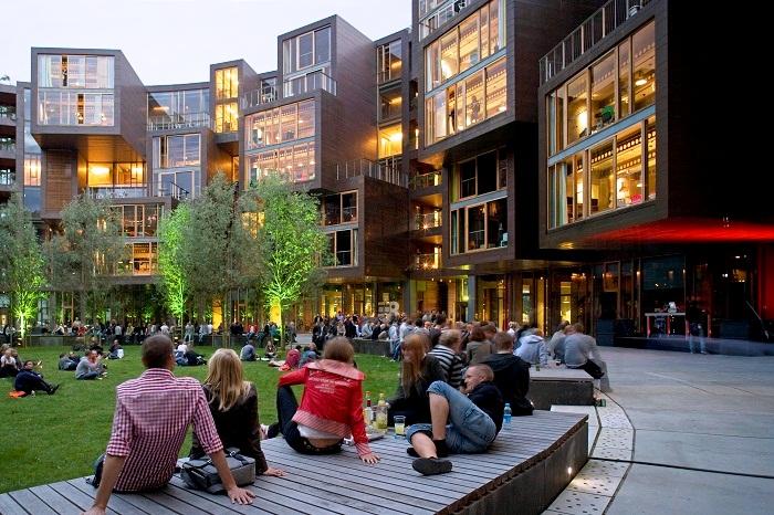 В столице Дании появилось студенческое общежитие, которое признано кампусом будущего