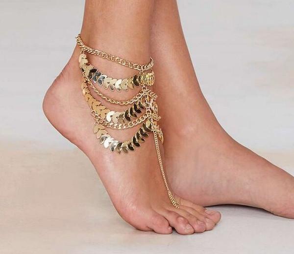 Кольца на ногу своими руками