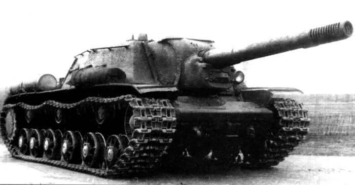Попадания отчудовищной пушки СУ 152