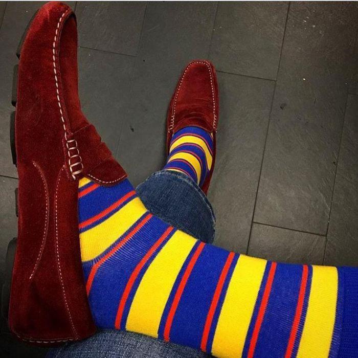 Люди, которые носят странные носки,   гениальные, творческие и успешные