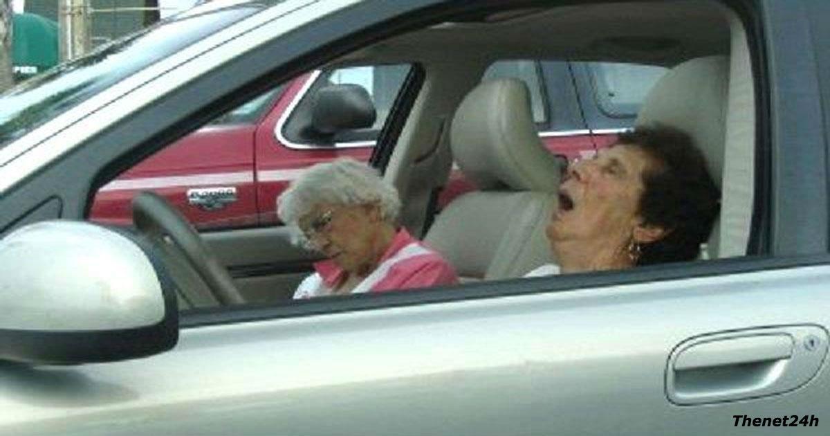 Полицейский остановил машину с 5 бабульками внутри. Попробуйте угадать, за что!