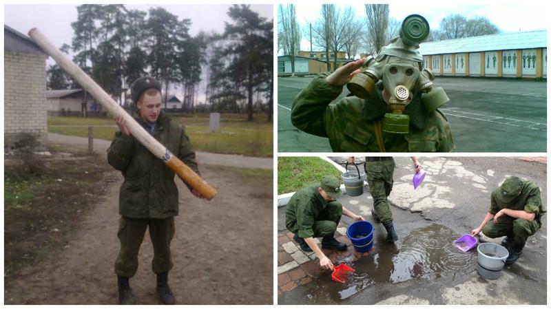 Российская армия   бессмысленная ибеспощадная