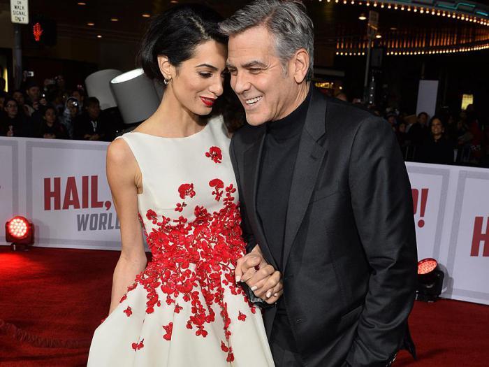 СМИ уверены: Джордж и Амаль Клуни ожидают рождения близнецов