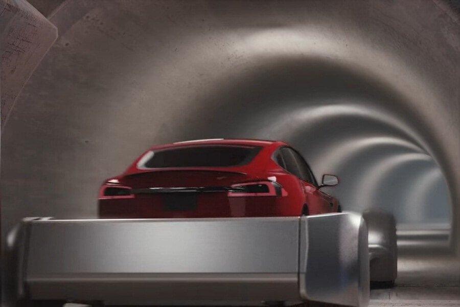 Испытания туннелей The Boring Company Илона Маска
