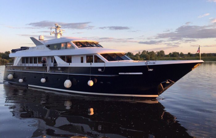 «Паллада»: что известно о роскошной яхте, которая принадлежит патриарху Кириллу