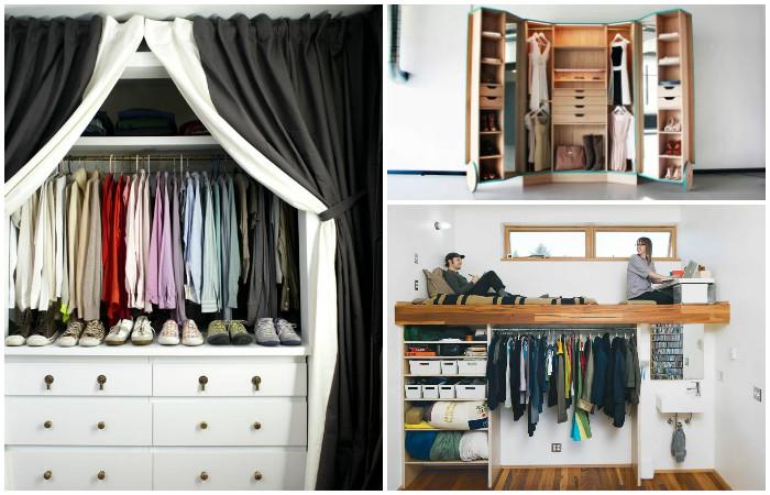 15 практичных и стильных мини гардеробных, которые подойдут даже для небольшой квартиры