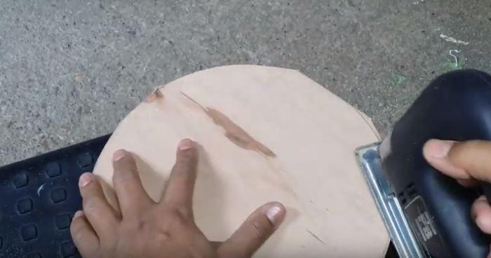 Как своими руками сделать катушку для садового шланга из старого пластикового ведра