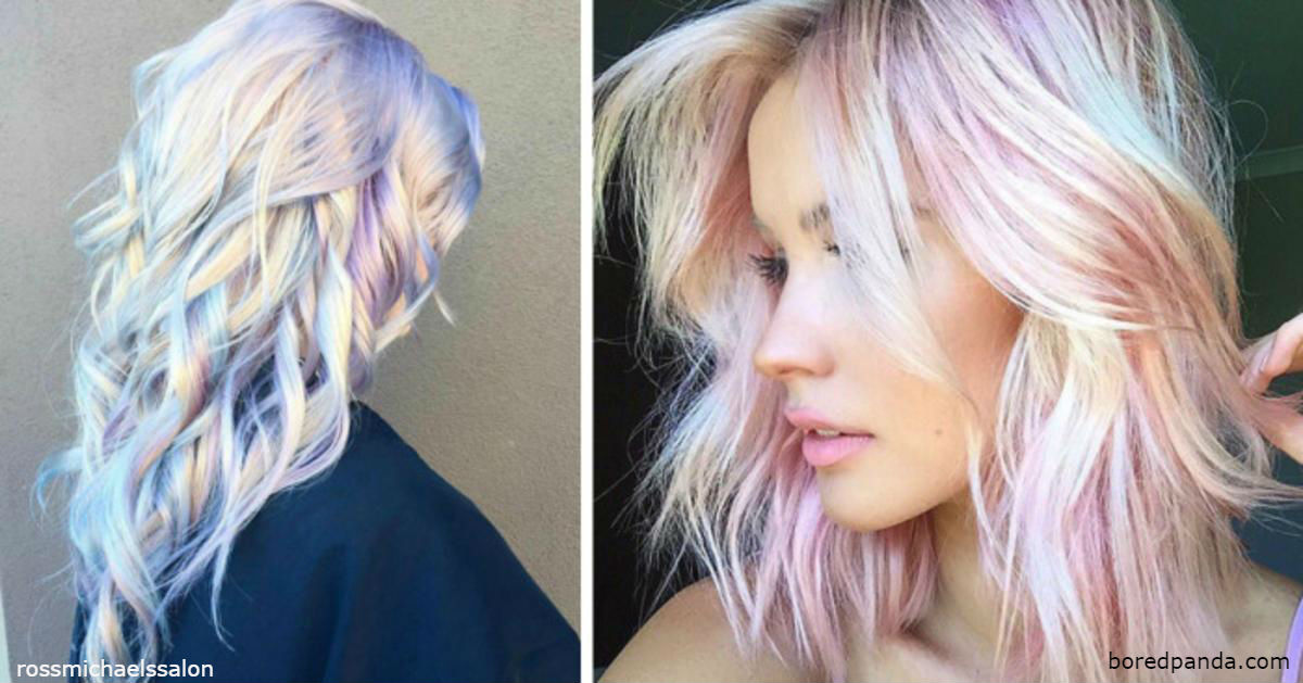 Весь мир сейчас подсел на новый тренд   голографические волосы! Вот почему