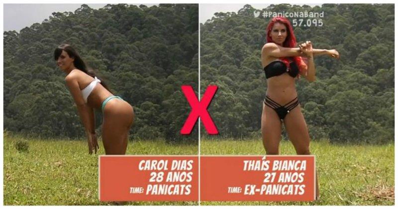 Горячее бразильское бикини шоу