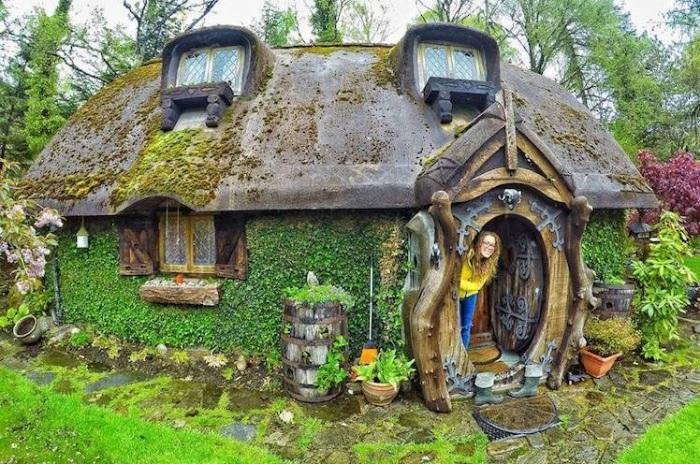 Восхитительный сказочный домик, который внутри также красив, как и снаружи