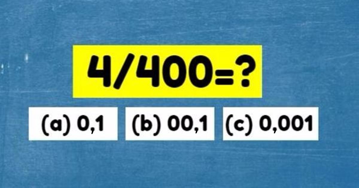 Мы дали этот тест на IQ 50 разным людям. Никто не прошел!