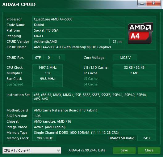 Процессор AMD A4-5000: обзор и характеристики