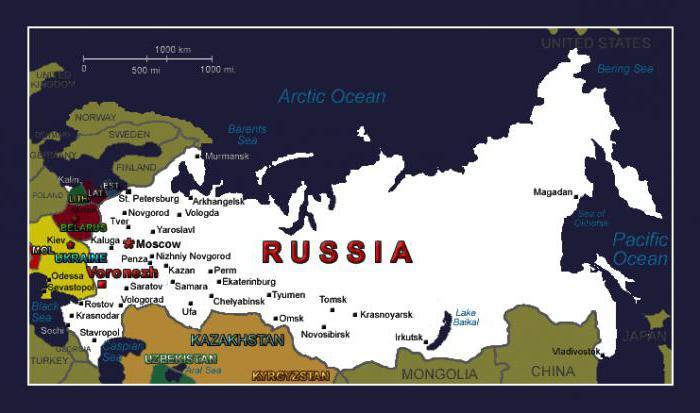 Воронежская область   136 регион России