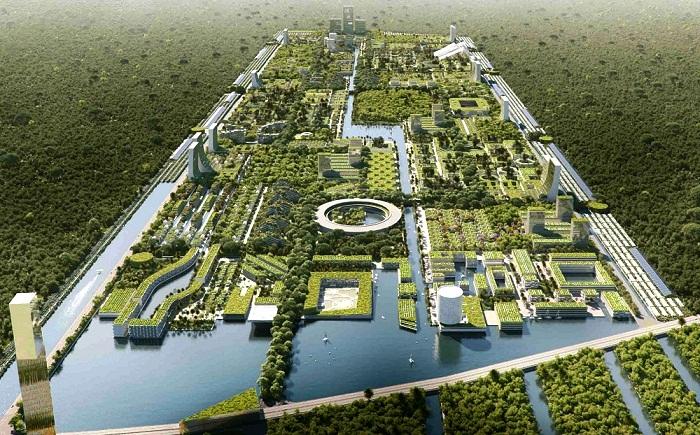 Энергонезависимый город от итальянцев, в котором деревьев будет вдвое больше, чем людей