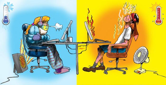 Почему одни люди постоянно мёрзнут, а другим всегда жарко