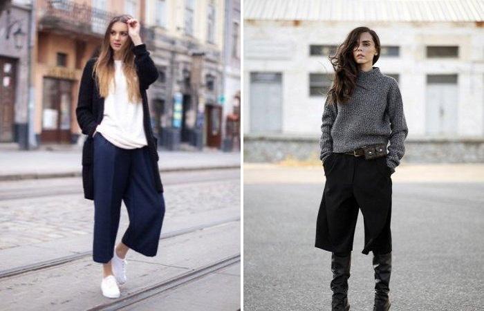 Как правильно носить брюки кюлоты: пять основных правил