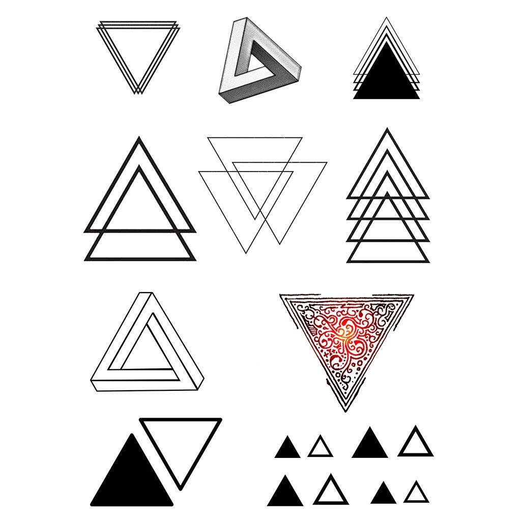 Картинки треугольник тату