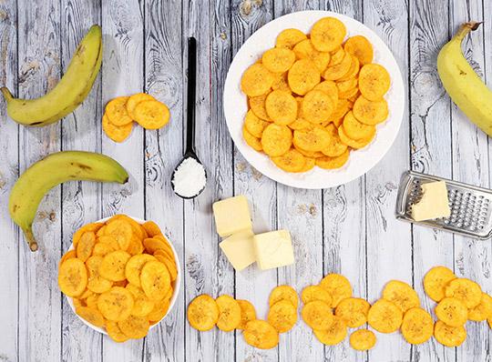 Как сделать банановые чипсы фото 617