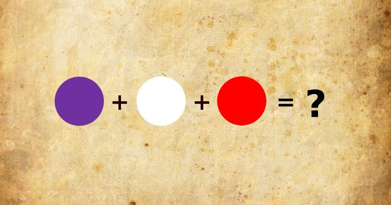 Только художники смогут пройти этот тест насмешивание цветов